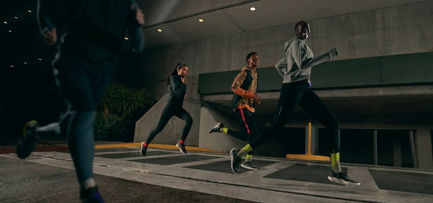 BE WEATHERIZED IN NIKE SHIELD COLLECTION