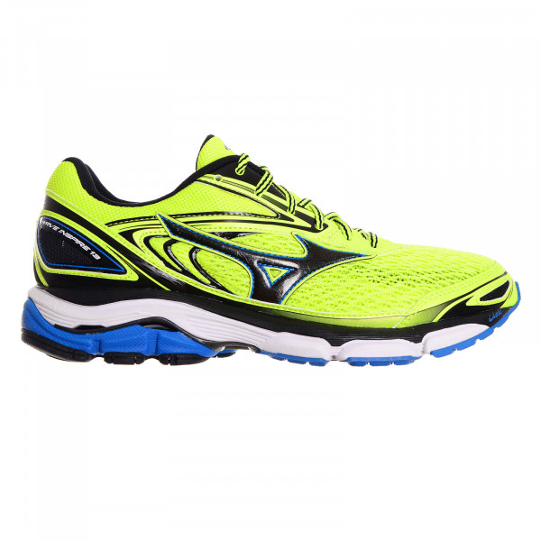 MIZUNO Patike SAFETYYELLOW/BLACK/DIRECTOIRE BLUE