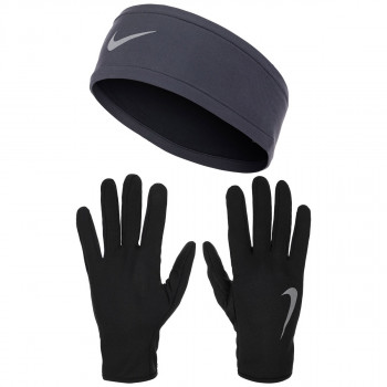 JR NIKE Set NIKE WOMEN'S RUN DRY HEADBAND AND GLOVE