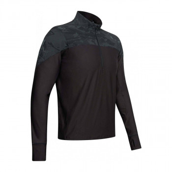 UNDER ARMOUR Majica dugih rukava UA QUALIFIER CAMO HALF ZIP