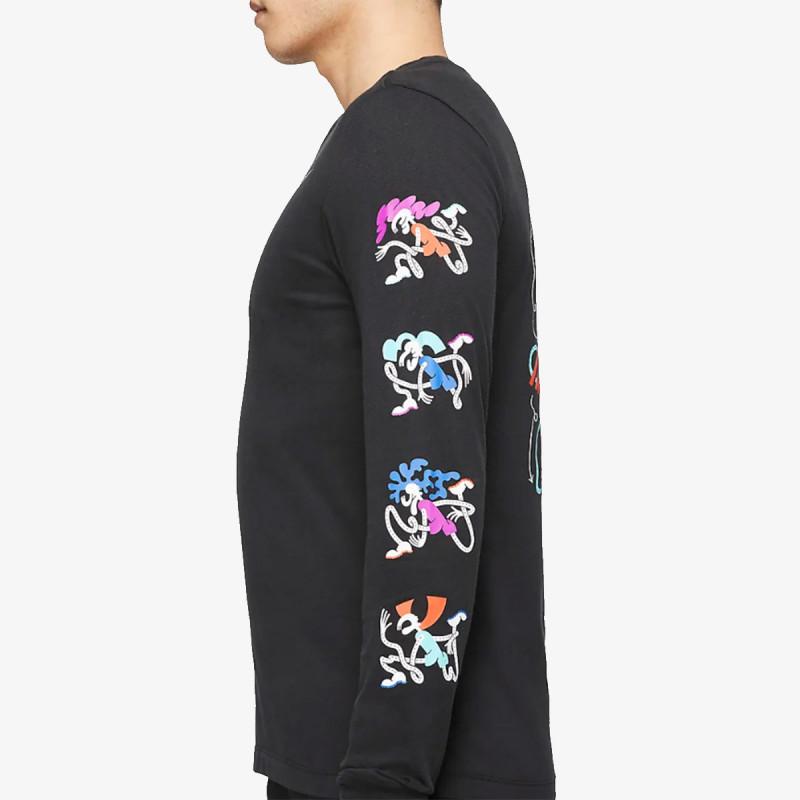 NIKE Majica dugih rukava M NK DRY TEE LS DFCT TOKYO
