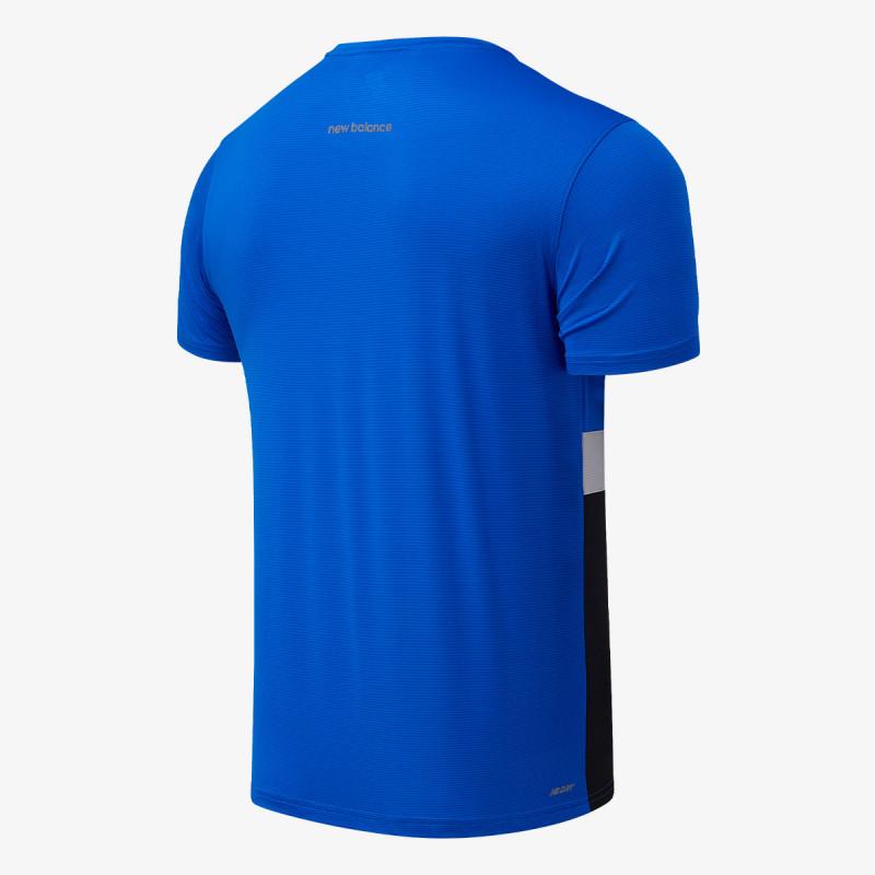 NEW BALANCE Majica STRIPED ACCLERATE SS