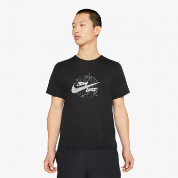 NIKE Majica Dri-FIT Miler Wild Run Men's Short-Sleeve Running Top