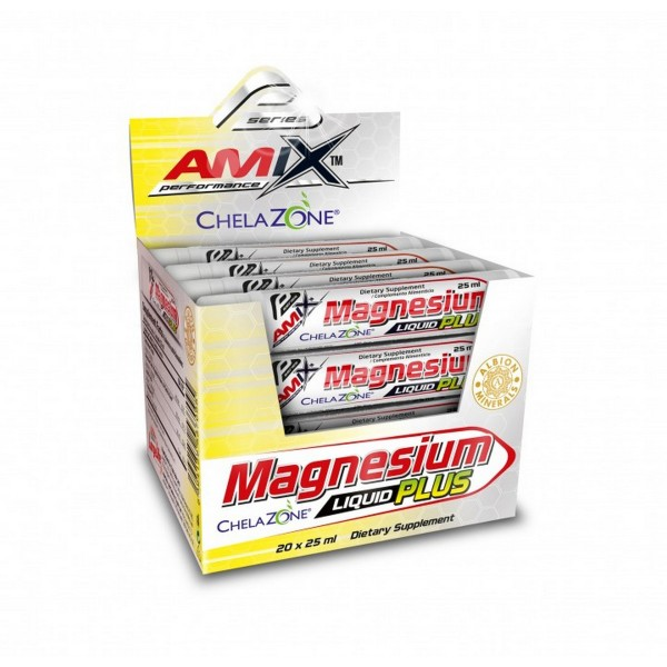 AMIX Napitak MAGNESIUM LIQUID PLUS 25ML LIMETA